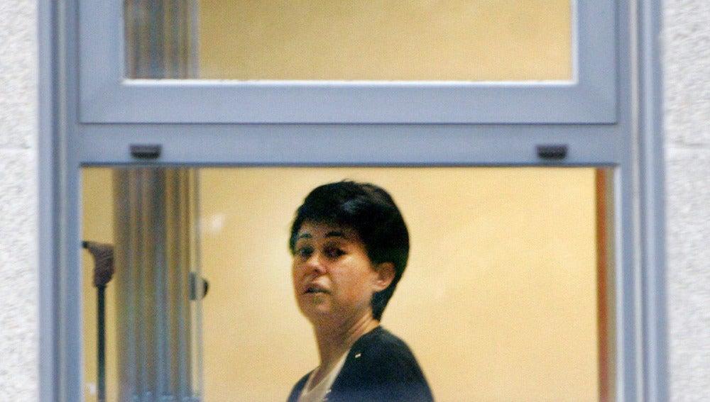 Rosario Porto declarando ante el juez