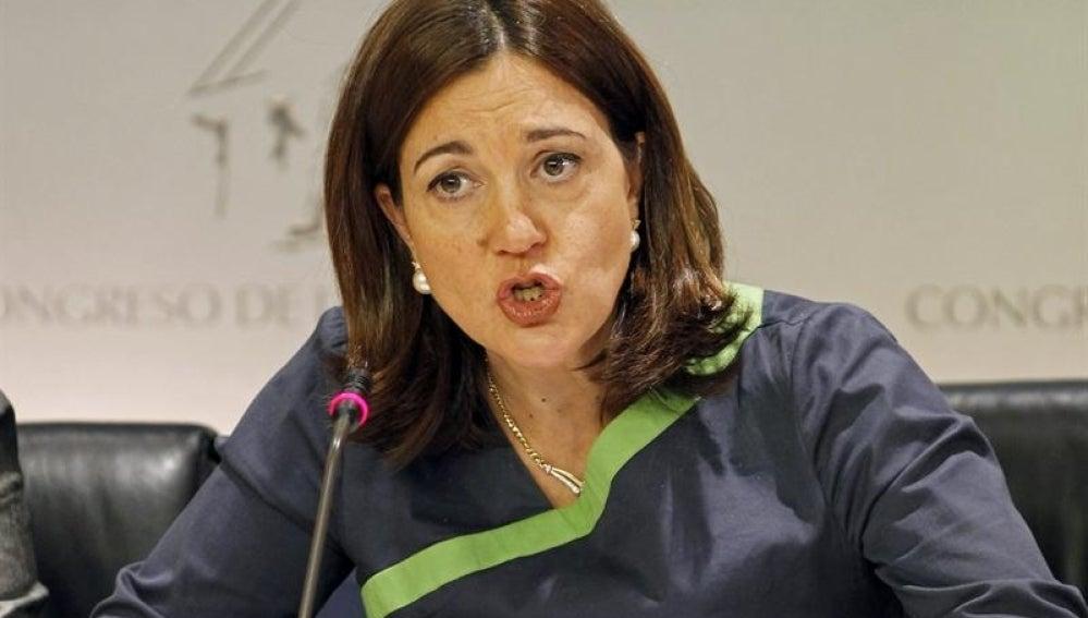 Soraya Rodríguez valora los Presupuestos Generales del Estado.