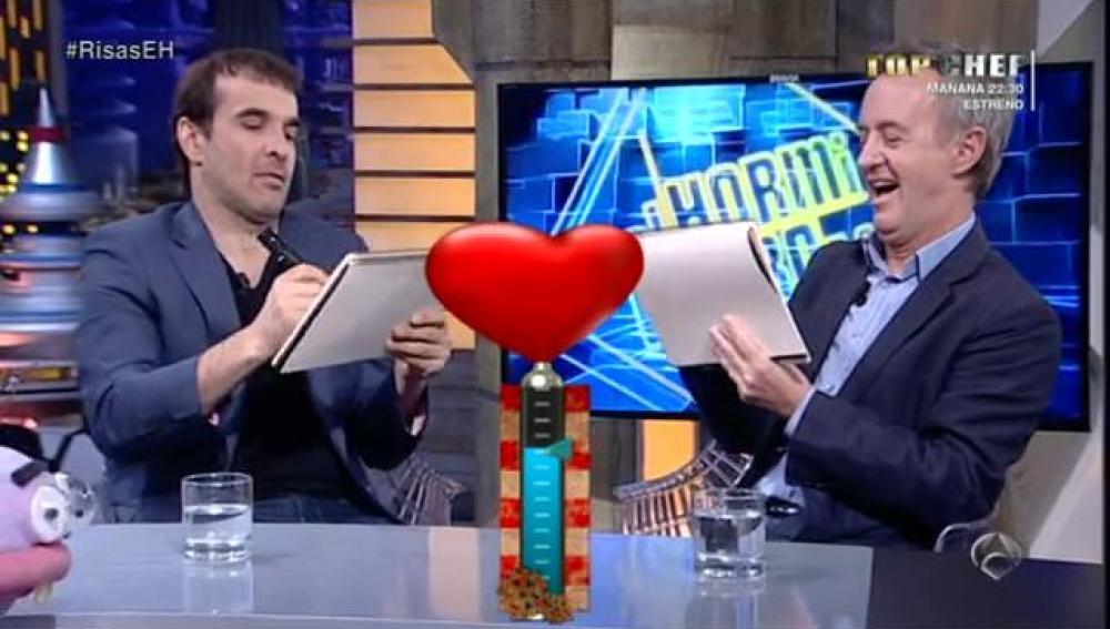 Luis y Carlos se enfrentan al test 'Media Castaña'
