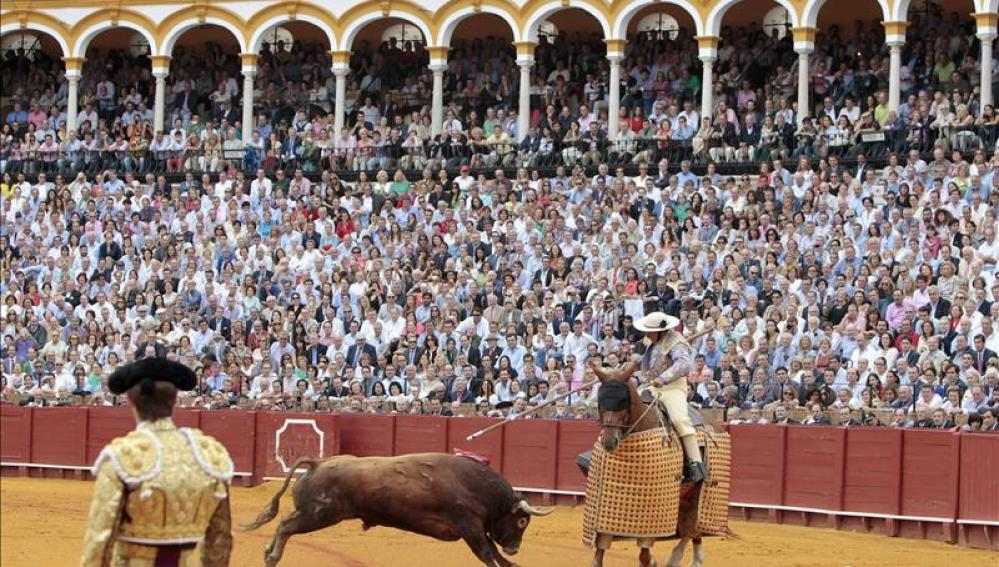 Corrida de toros en Sevilla