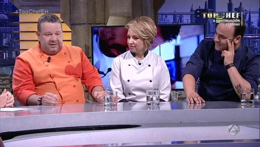 Alberto Chicote, Susi Díaz y Ángel León en El Hormiguero 3.0