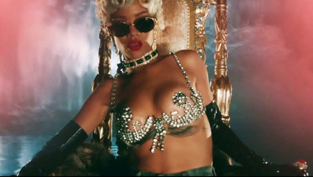 Rihanna en su nuevo vídeo