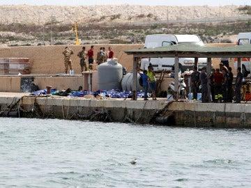 Lampedusa, foco de la tragedia