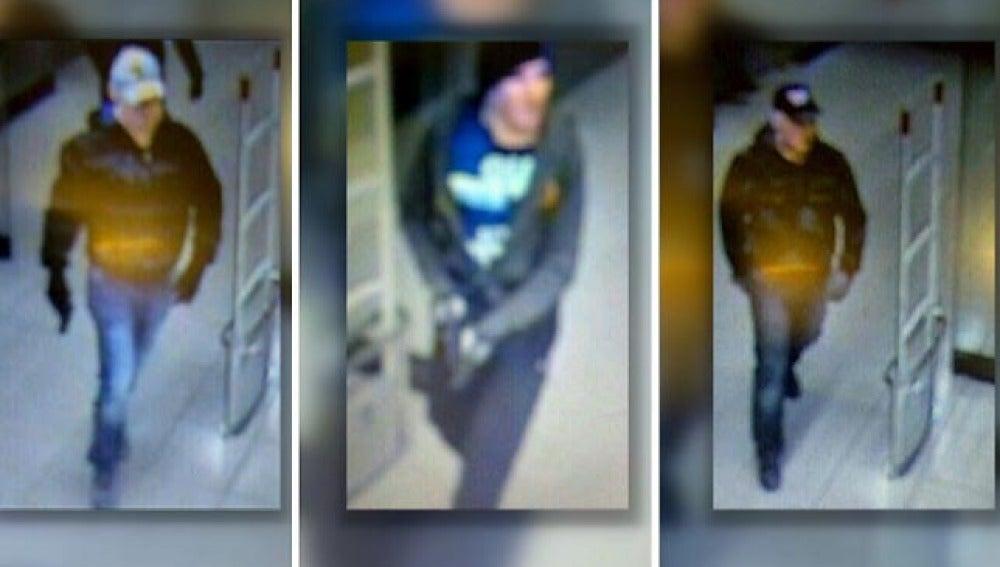 Los tres sospechosos del atraco en Toledo
