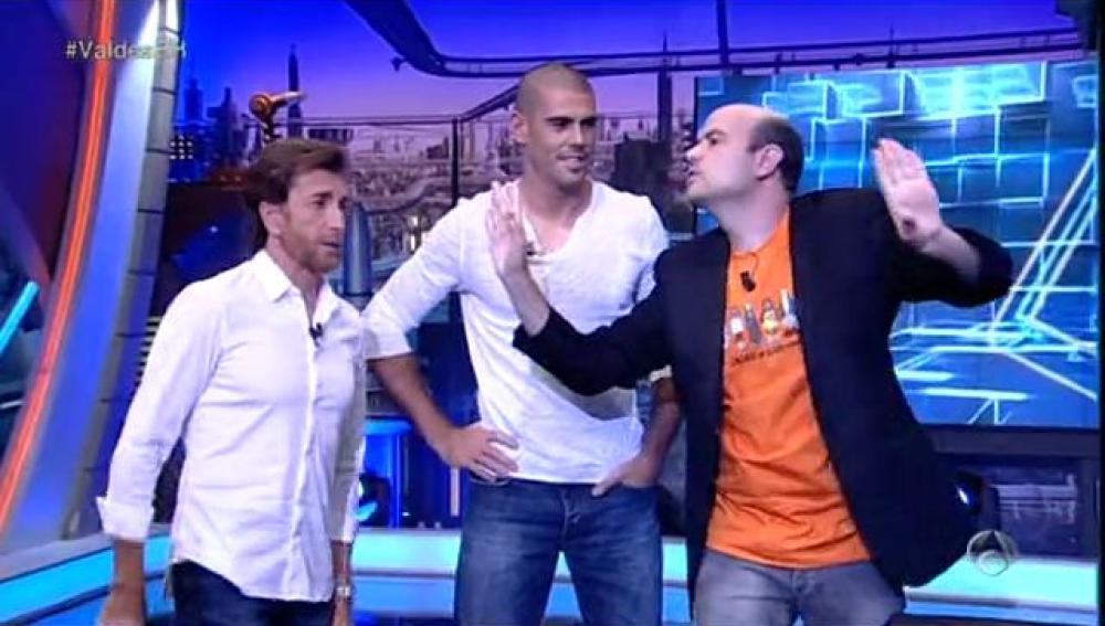 De timba con Víctor Valdés