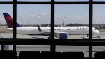 Avión de Delta Airlines