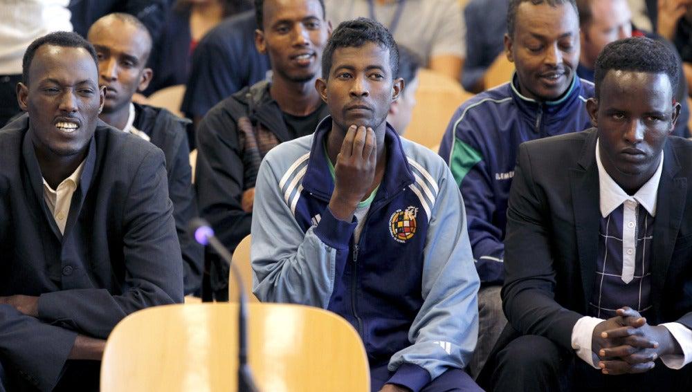 Comienza el juicio contra los piratas somalíes