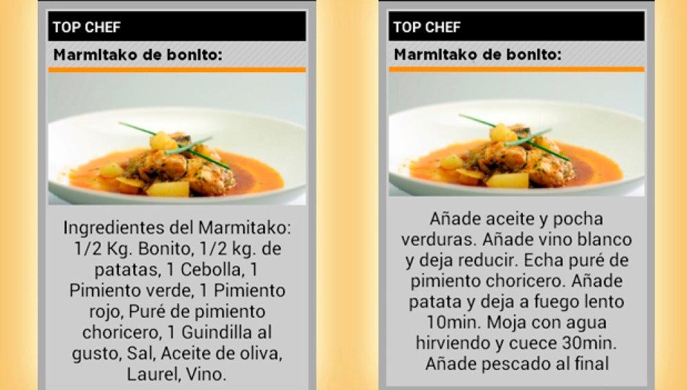 Recibe recetas de 'Top Chef' en ATRESMEDIA CONECTA