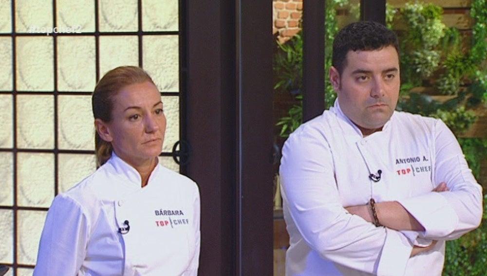 Bárbara y Antonio