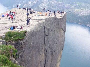 'El Púlpito', en los fiordos noruegos
