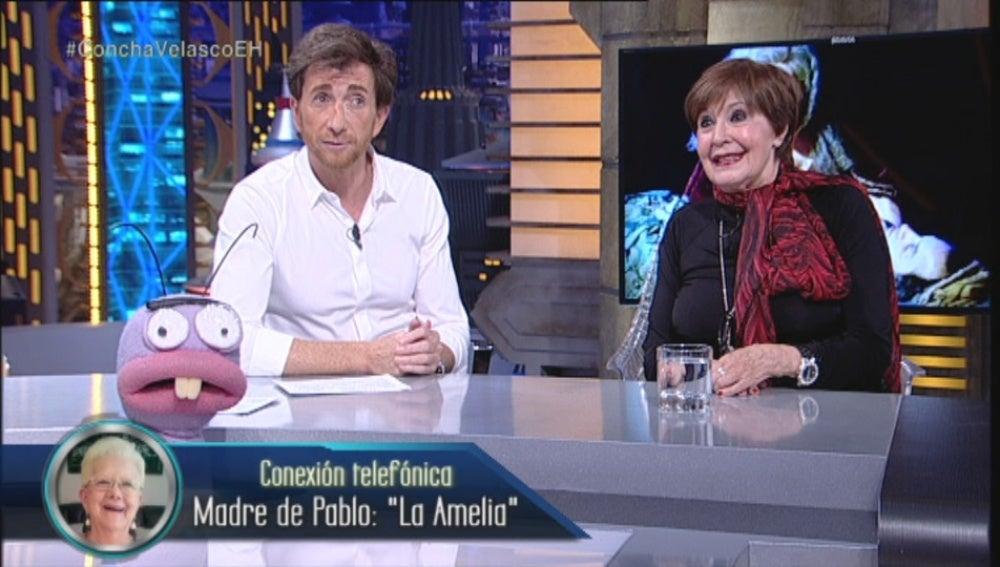 Concha Velasco habla con La Amelia