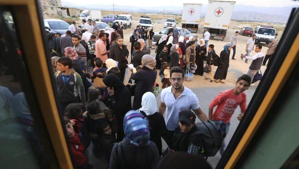Los habitantes de Damasco no ven final al conflicto en Siria
