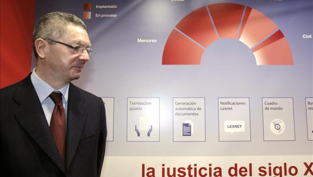 Gallardón, ministro de Justicia