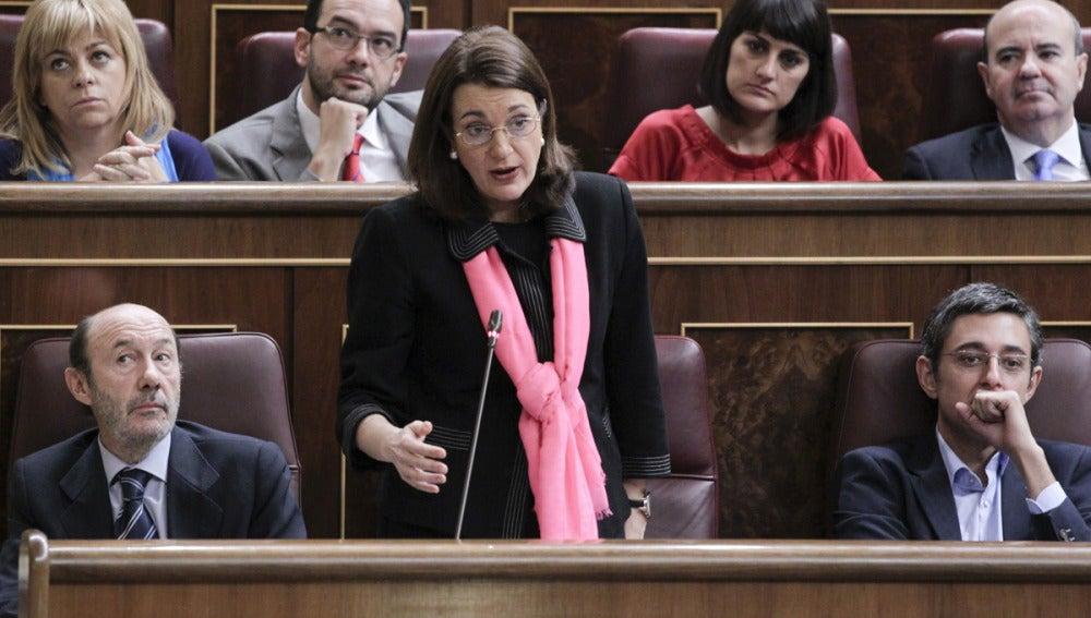 Soraya Rodríguez en el Congreso
