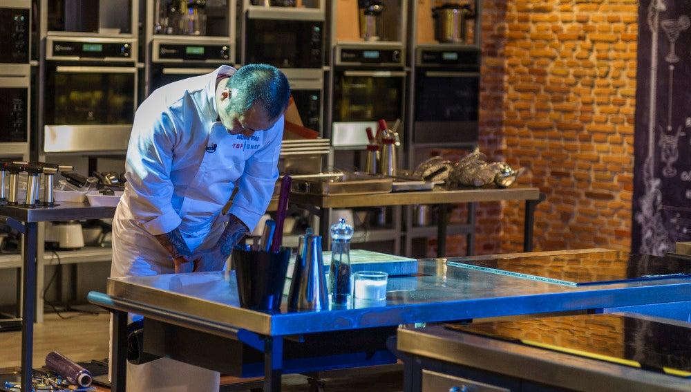 Hung Fai tiene que recoger sus cuchillos y marcharse de Top Chef