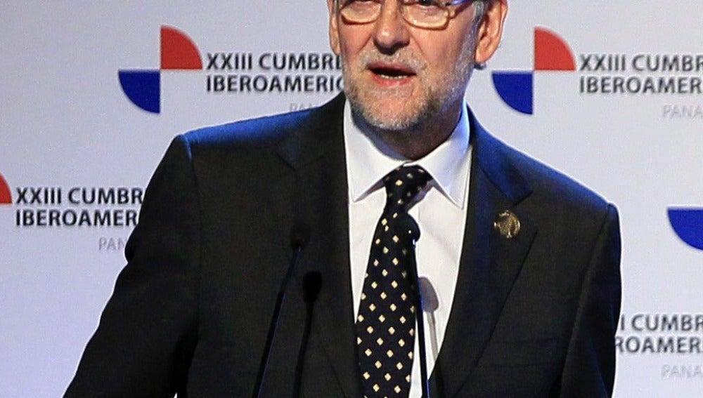 Mariano Rajoy, en la cumbre Iberoamericana