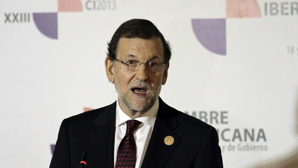 Rajoy, en la Cumbre Iberoamericana