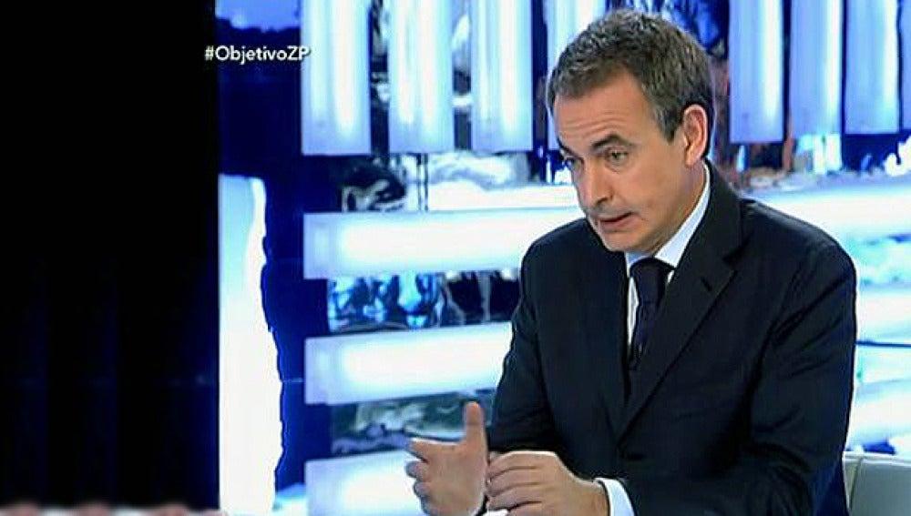 Ana Pastor entrevista a Zapatero