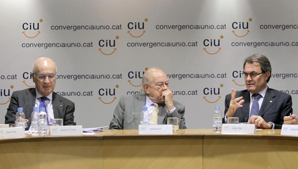 CiU   Rueda de prensa sobre la intervención militar en Oriente Medio 58