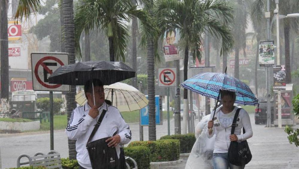 Lluvias en la Península