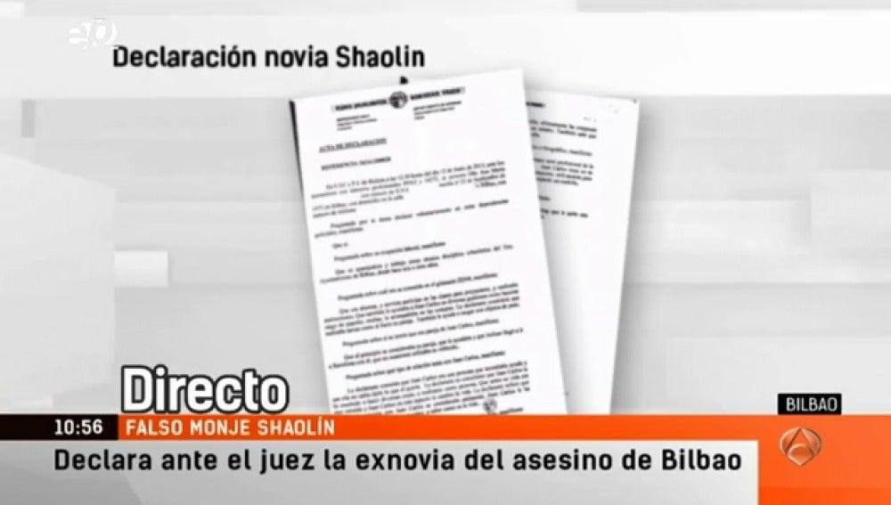 Antena 3 tv declara ante el juez la expareja del falso for Espejo publico hoy completo