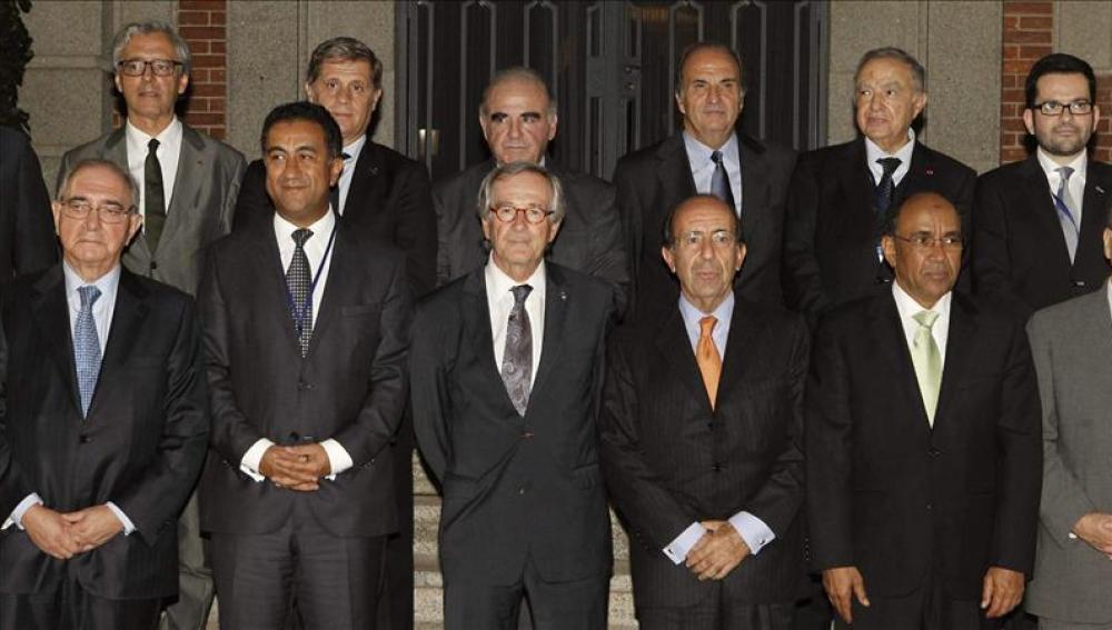 Participantes en el Primer Foro Económico del Mediterráneo Occidental