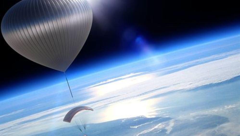 Viajes en globo a la estratosfera