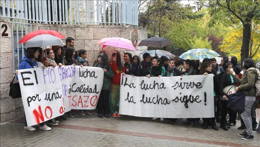 Manifestación de estudiantes