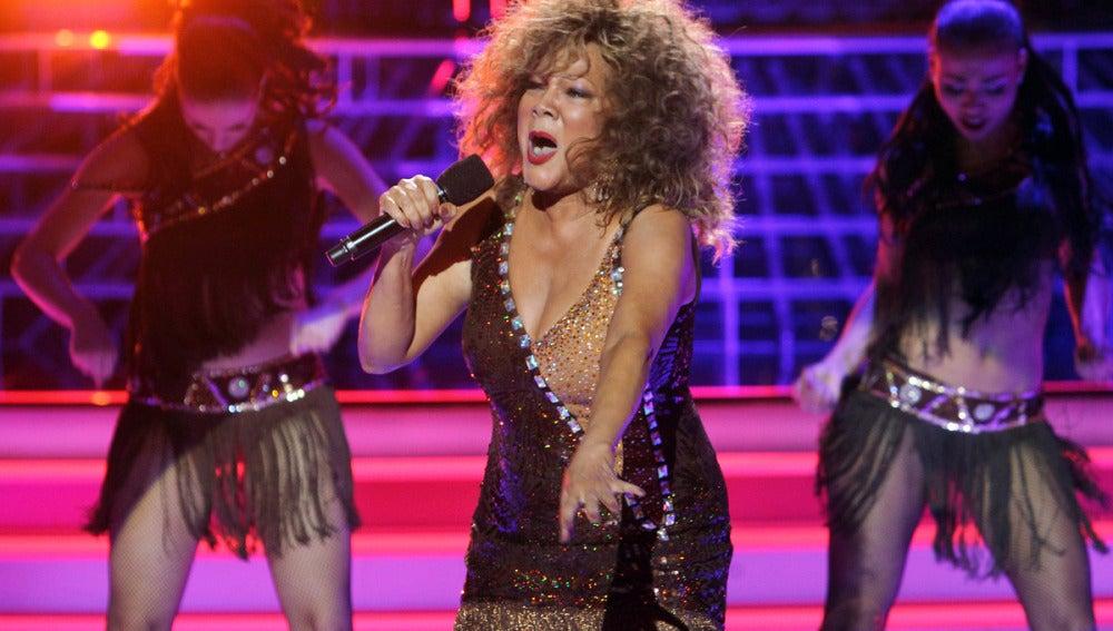 Gala 3 | Ángela Carrasco imita a Tina Turner