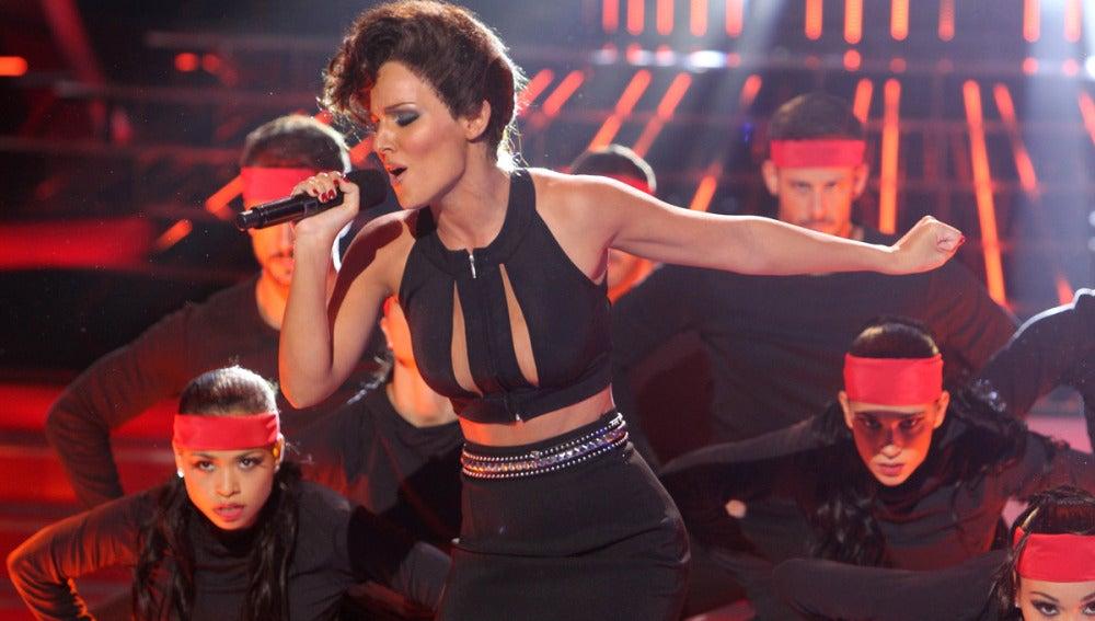 Gala 1   Edurne imita a Alicia Keys