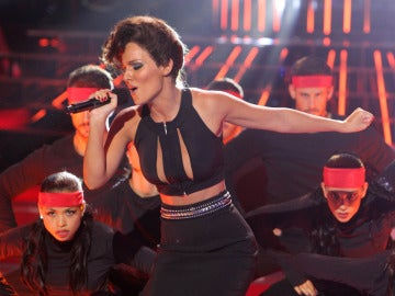 Gala 1 | Edurne imita a Alicia Keys