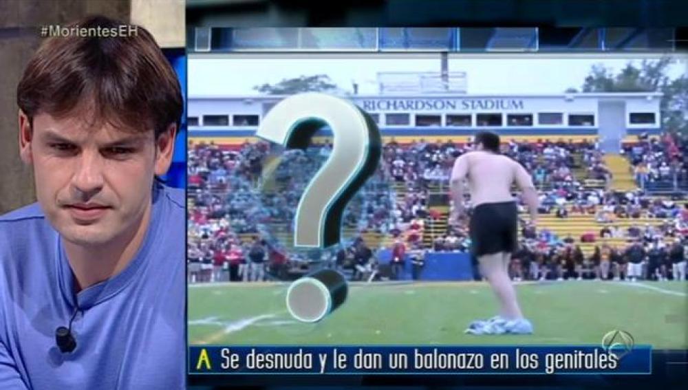 Fernando Morientes en El Hormiguero 3.0