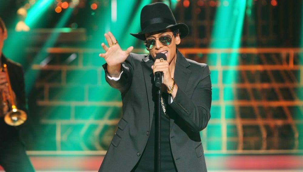 Gala 2 | Xuso Jones imitando a Bruno Mars