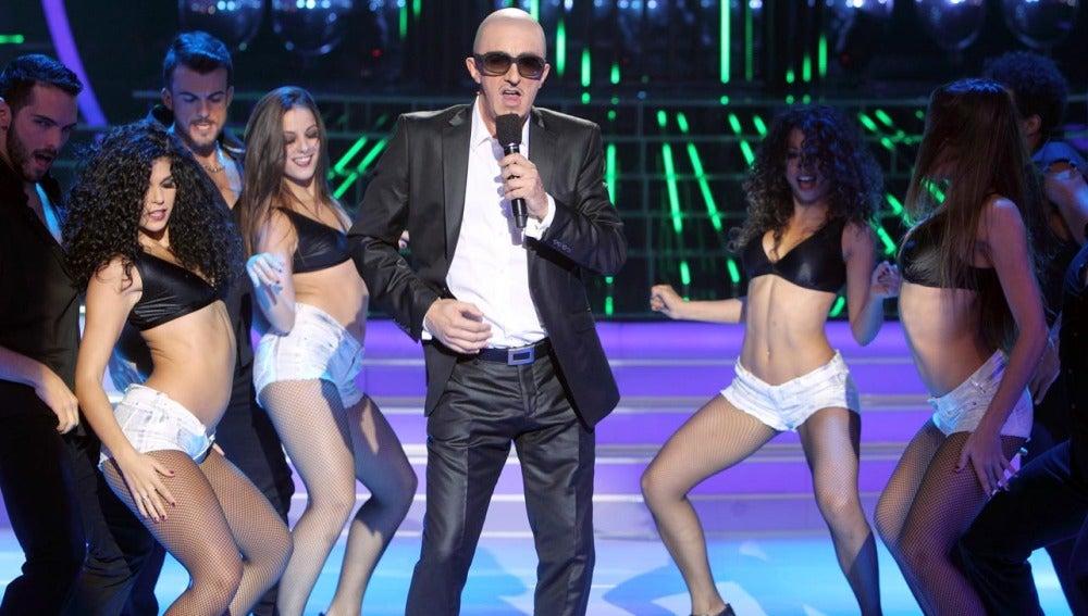 Gala 2   Santi Rodríguez es Pitbull