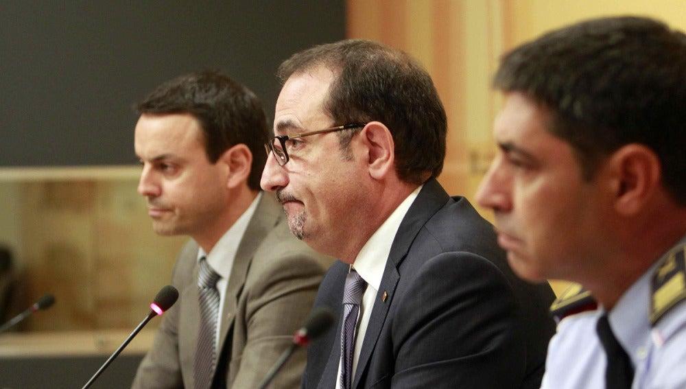 El conseller de Interior, Ramon Espadaler, da explicaciones sobre el caso