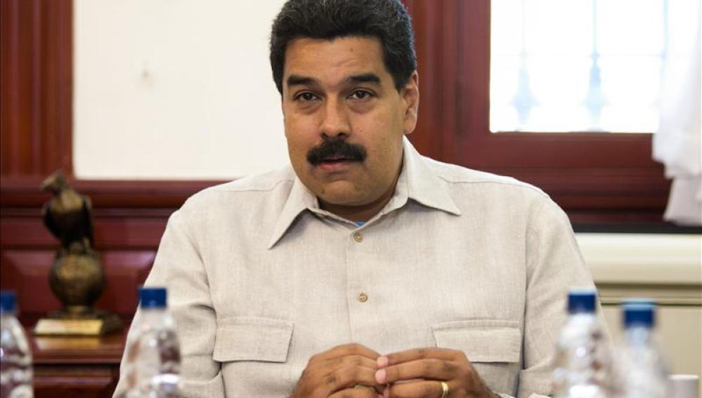 Maduro, presidente de Venezuela