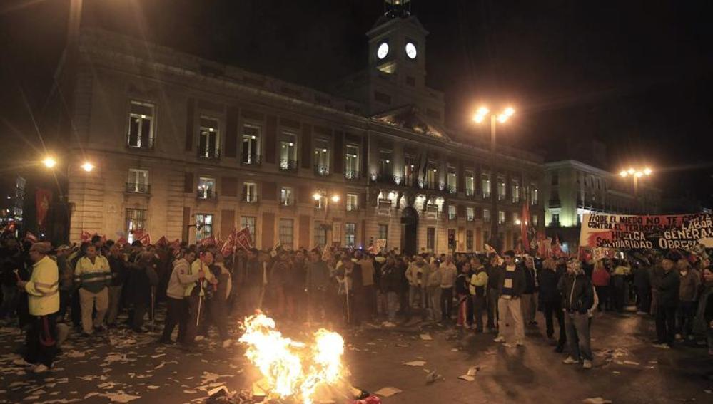 Varios miles de trabajadores de jardinería y limpieza viaria en Madrid capital