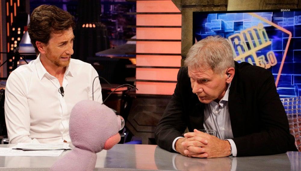 Harrison Ford con Trancas