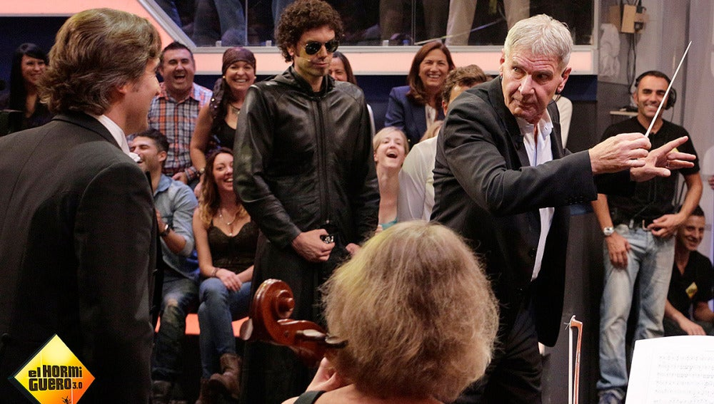 Harrison Ford dirge la Film Orchestra