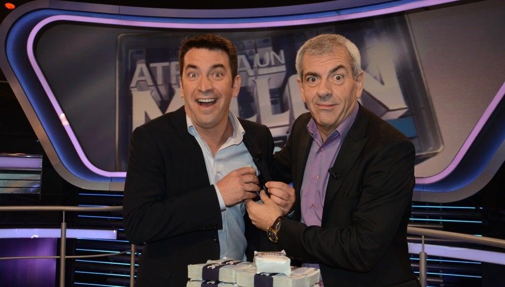 Arturo Valls presenta 'Atrapa un millón'