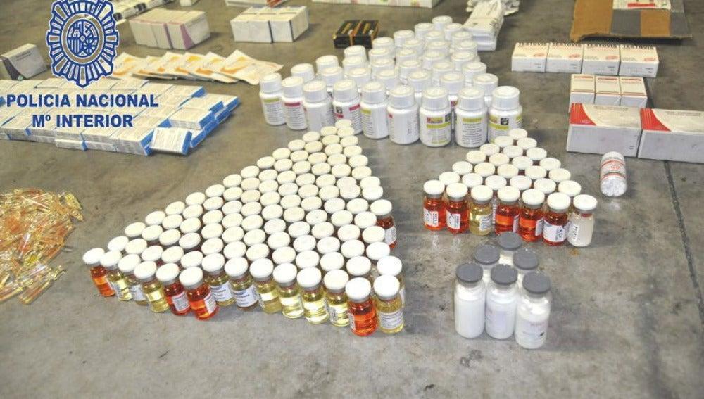 Desmantelada una organización de tráfico de anabolizantes
