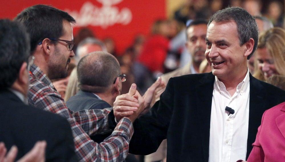 Rodríguez Zapatero, en la conferencia