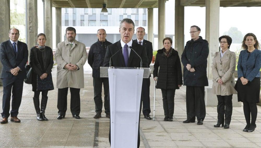 Íñigo Urkullu, en el Día de la Memoria
