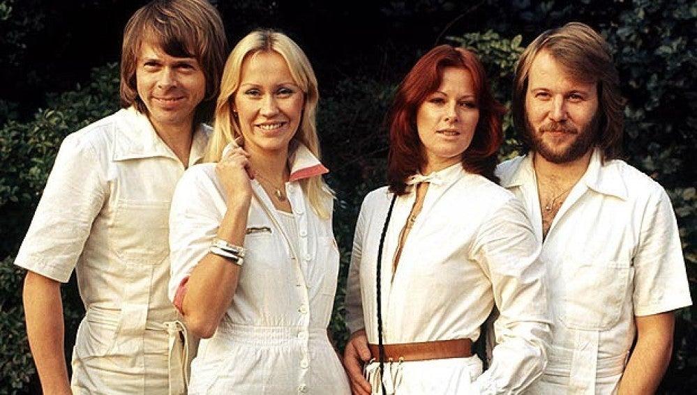 El grupo ABBA, en pleno apogeo