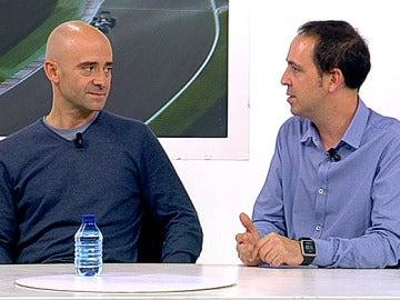 Antonio Lobato y Jacobo Vega, en un videoencuentro de antena3.com