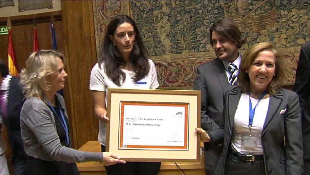 La Fundación Jiménez Díaz obtiene el sello europeo de calidad '5 Stars' por la gestión de excelencia en todas las áreas