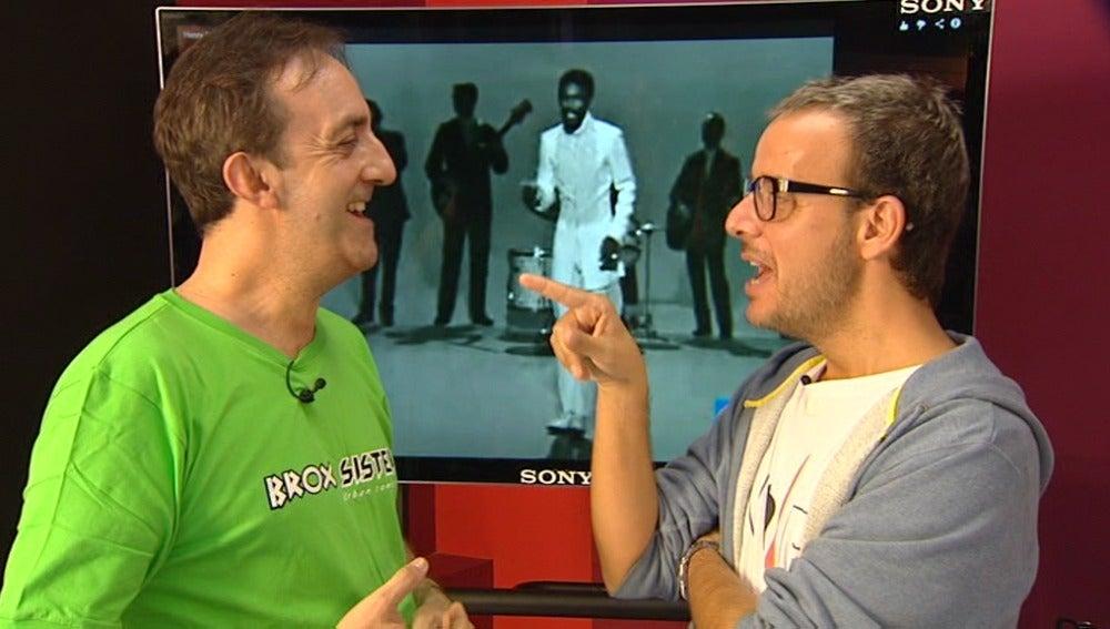 Santi Rodríguez y Ángel Llácer