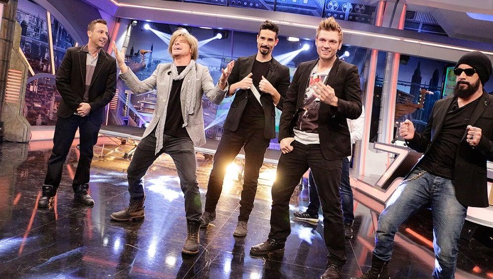 Los Backstreet Boys en El Hormiguero 3.0