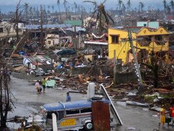 Ambiente desolador en Filipinas