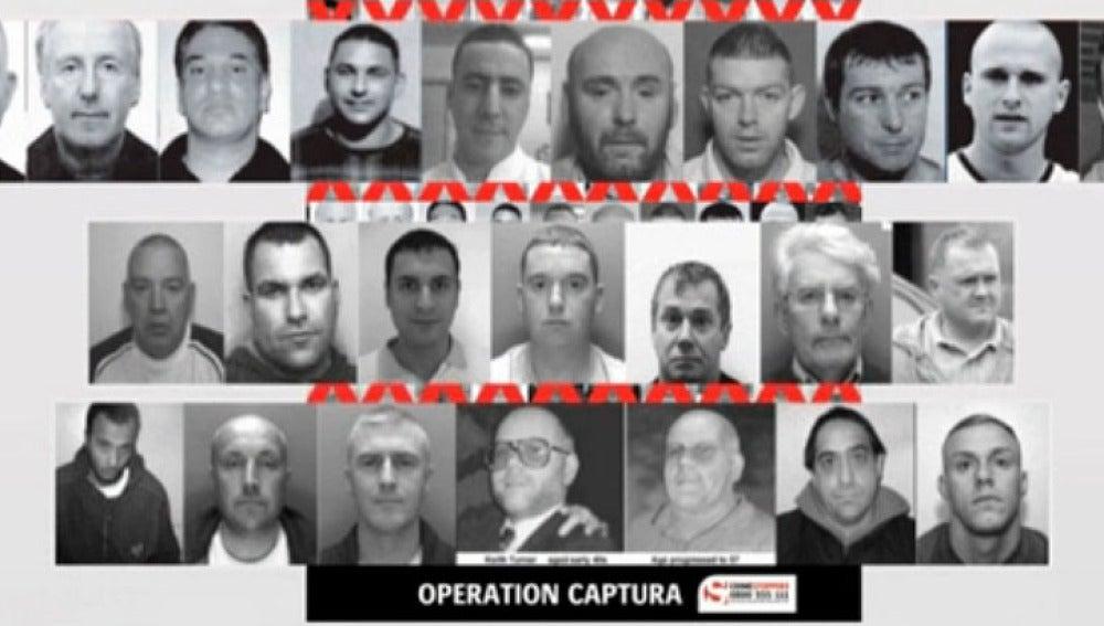 Trece fugitivos británicos buscados en España